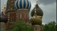 Stock Video Footage of St. Basil's Cathedral 2