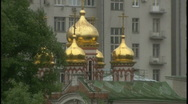 Stock Video Footage of Russian cathedral 1