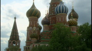Stock Video Footage of St. Basil's Cathedral 1