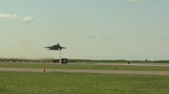 Military, F15 Eagle fighter jet takeoff, #12 Stock Footage