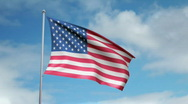 Stock Video Footage of Flag of United States