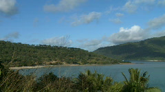 Island surroundings (1 of 2) Stock Footage
