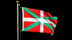 Isolated Basque Stock Footage