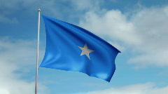 Stock Video Footage of Flag of Somalia