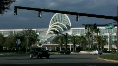 Orange County Convention Center, Orlando - stock footage