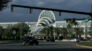 Stock Video Footage of Orange County Convention Center, Orlando