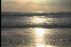 Beach Sunrise - 2 Stock Footage