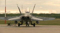 Military, F18 Hornet fighter jet, #9 Stock Footage