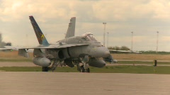 Military, F18 Hornet fighter jet, #11 Stock Footage