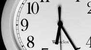 Time Lapse - Clocks Stock Footage