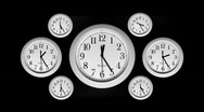 Stock Video Footage of Time Lapse - Clocks