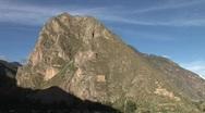 Ollantaytambo, Peru Stock Footage