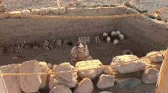 Mummy, Paracas, Peru - stock footage