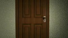 Door opening to Green Screen HD1080 Stock Footage