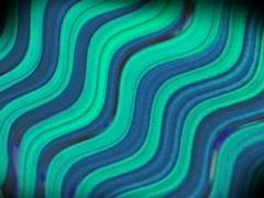 1032 BlueGreenWaves - stock footage