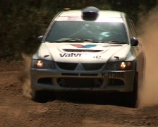 Race Car In The Sand Stock Footage
