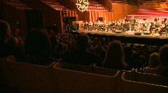Orchestra in Symphony Hall (3 of 3) Stock Footage