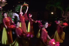 Vietnamese cultural Show Stock Footage