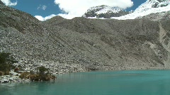 Lagoon 69, Peru Stock Footage