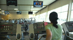 Treadmill Stock Footage