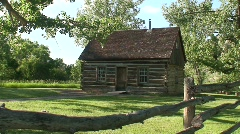 P00220 Theodore Roosevelt Maltese Cabin Stock Footage