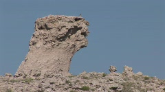 P00238 Geology at Agate Fossil Beds National Monument - stock footage