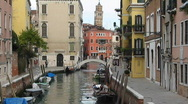 Stock Video Footage of Small canal in Venice