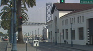 Stock Video Footage of Pier38BayBridge multi