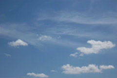 Animated clouds Stock Footage