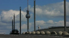 Germany Berlin Government district traffic Stock Footage