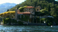 Colonno villa balbianello 03 Stock Footage