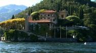 Stock Video Footage of colonno villa balbianello 03