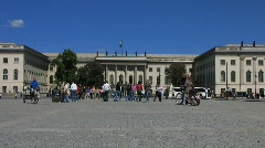 Germany Berlin Humboldt-Universität zu Berlin Stock Footage