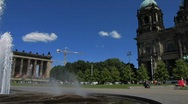 Stock Video Footage of Germany Berlin Altes Museum in Museum insel