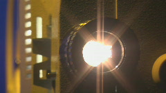 Film projector sequence 4 Stock Footage