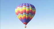 Stock Video Footage of MSRainbowBarBalloon