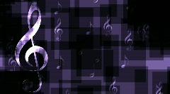 Music Horizontal Motion Stock Footage