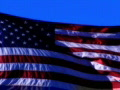 High Speed Camera USA Flag 03 Loop Footage
