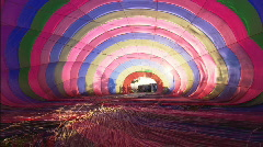 LSInsideHotAirBalloon Stock Footage