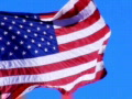 High Speed Camera USA Flag 06 Loop Footage
