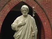 Statue StWalburga Med001 Stock Footage