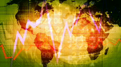 Global Economy Background Stock Footage