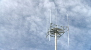 Celltower time lapse Stock Footage