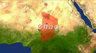 Stock Video Footage of Zooming into Chad