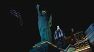 Stock Video Footage of NYNYStatueLiberty lowangle
