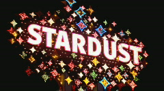 Stock Video Footage of StardustSign zoomin