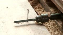 Drill Machine Stock Footage