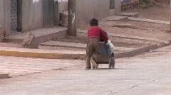 Kids With Soapbox, Latinamerica Stock Footage