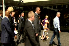 Geert Wilders PVV the Netherlands Stock Footage