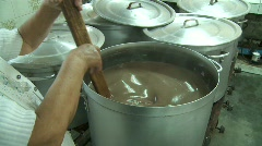 Cooking Soup in Peru Stock Footage